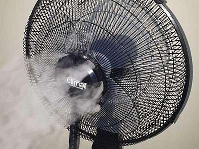 Ventilador com névoa de água preço