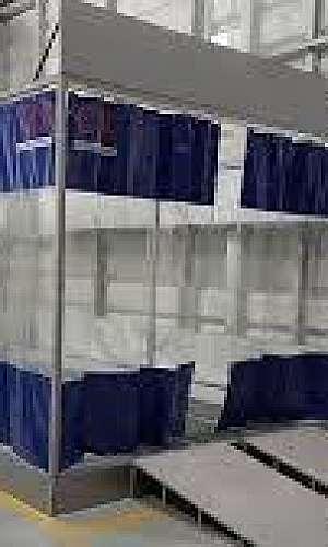 cabine de pintura móvel