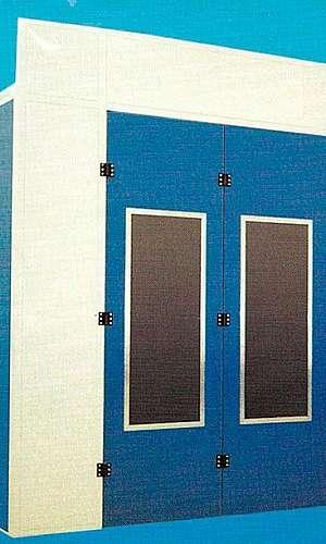 Cabines de pintura para móveis