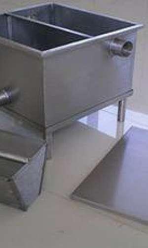 caixa de gordura de inox em SP