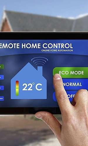 Climatização automação residencial
