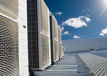 Climatização para cozinha industrial