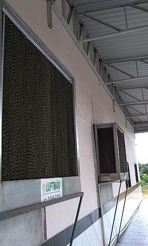 Climatizador de parede industrial