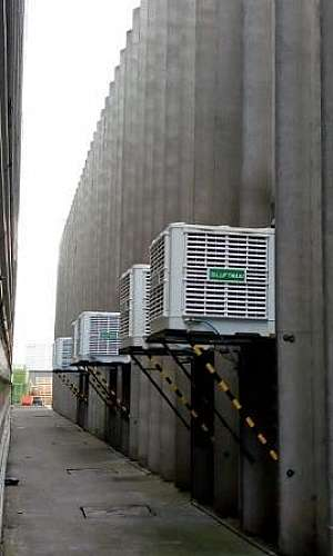 climatizador industrial de parede
