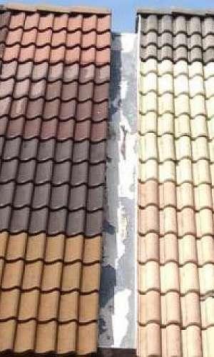 Empresa de lavagem de telhado