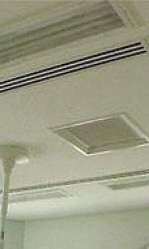 Instalação de sistemas de climatização em geral
