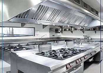 Exaustor de cozinha residencial