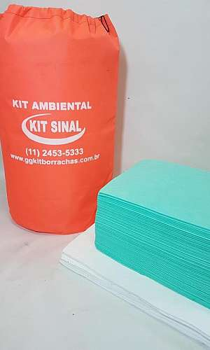 Kit ambiental de emergência