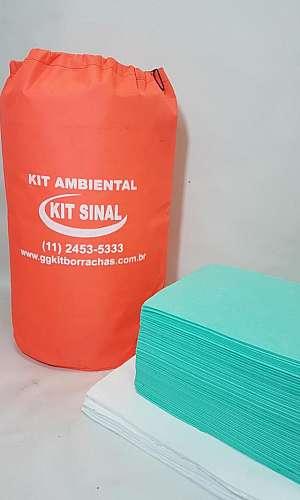 Kit antiderrames ambiental