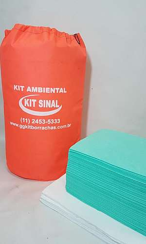Kit contenção ambiental