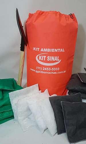 Kit de emergência ambiental preço