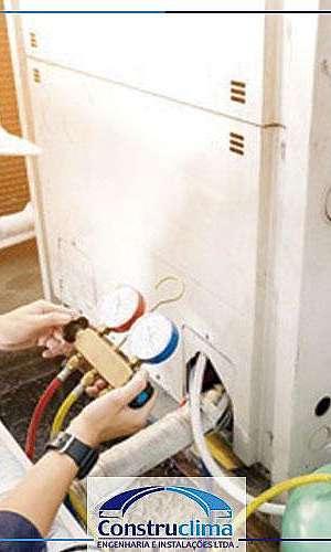 Manutenção de centrais de climatização