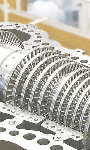 Manutenção preventiva em turbinas