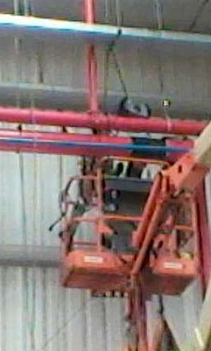 Montagem de sistema de hidrantes sp