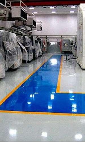 Pintura para piso industrial
