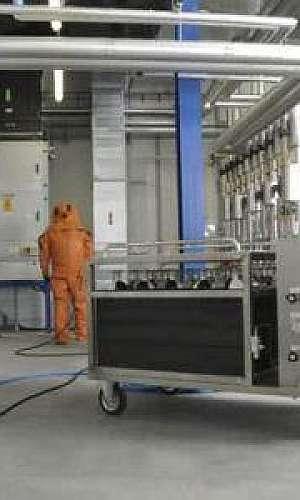 Sistema de ar comprimido industrial
