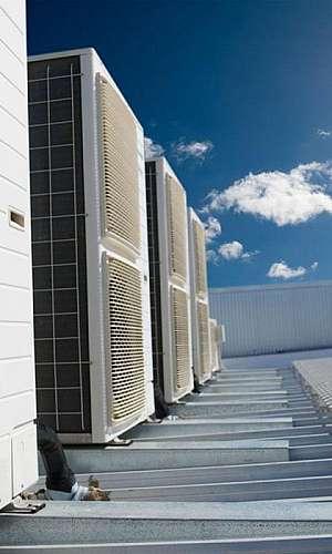 Sistema de climatização de precisão