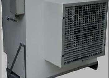 Ventilador climatizador umidificador parede industrial